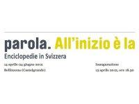 """Visita all'esposizione: """"All'inizio è la parola. Enciclopedie in Svizzera"""""""